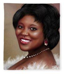 Portrait Commision  Fleece Blanket