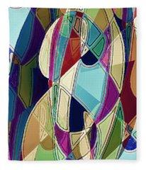 Portrait Of A Friend Fleece Blanket