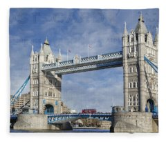 Postcard Home Fleece Blanket