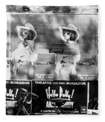 Posters Of The Concerts Of Michel Polnareff At The Olympia, Paris, 1972 Fleece Blanket