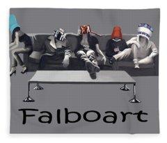 Pot Heads Fleece Blanket