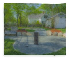 Povoas Park Fleece Blanket