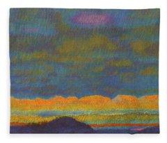 Powder River Reverie, 1 Fleece Blanket