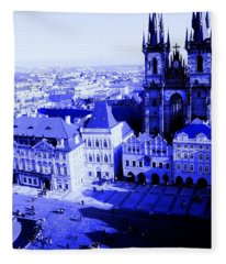 Prague Cz Fleece Blanket