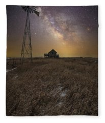 Prairie Dreaming  Fleece Blanket