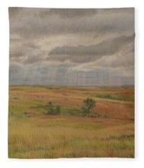 Prairie Light Fleece Blanket