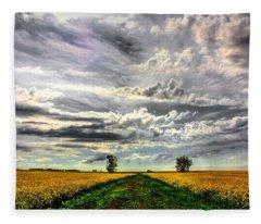 Prairie Sky 2 Fleece Blanket