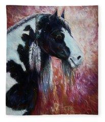Prairie Spirit Fleece Blanket
