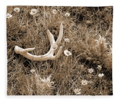 Prairie Spring Fleece Blanket