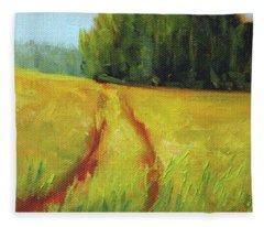 Prairie Trail Fleece Blanket