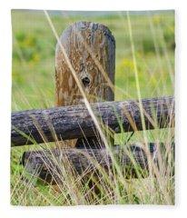 Prairie's Edge Fleece Blanket