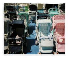 Pram Lot Fleece Blanket