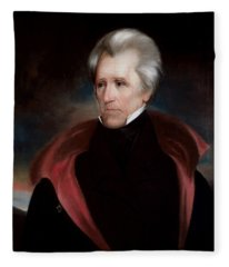 President Jackson Fleece Blanket