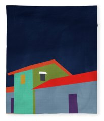 Presidio- Art By Linda Woods Fleece Blanket
