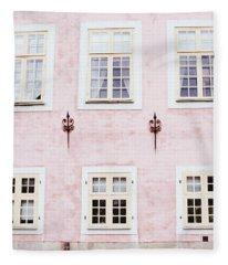 Pretty In Pink- Art By Linda Woods Fleece Blanket