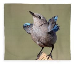 Pretty Pose Fleece Blanket