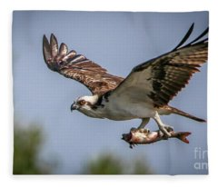 Prey In Talons Fleece Blanket