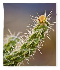 Prickly Branch Fleece Blanket