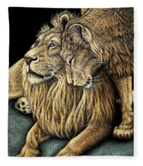 Pride Love Fleece Blanket