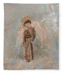 Priest Angel Fleece Blanket