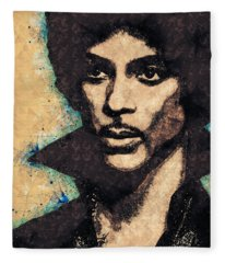 Prince Illustration Fleece Blanket
