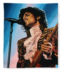Prince Painting Fleece Blanket
