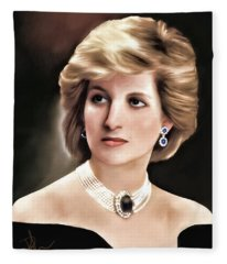 Princess Diana Fleece Blanket