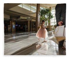 Fleece Blanket featuring the photograph Princess Dreams by Alex Lapidus