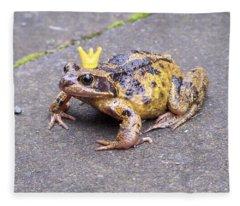 Princess Frog Fleece Blanket