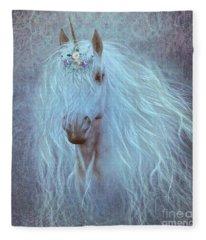 Princess Unicorn Fleece Blanket