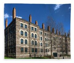 Princeton University Dod Hall Fleece Blanket