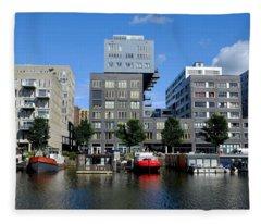 Prinseneiland Amsterdam Fleece Blanket