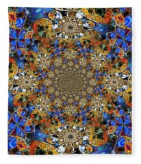 Prismatic Glasswork Fleece Blanket