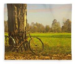 Private Parking Fleece Blanket