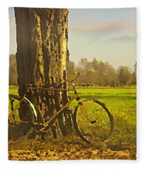 Private Parking Fleece Blanket