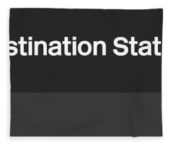 Procrastination Station- Art By Linda Woods Fleece Blanket