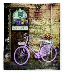 Profumato Bicycle Fleece Blanket