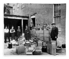 Prohibition, 1922 Fleece Blanket