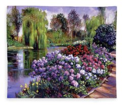 Promise Of Spring Fleece Blanket