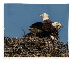 Proud Parents Fleece Blanket
