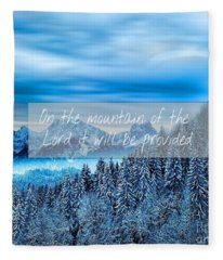 Provision Fleece Blanket