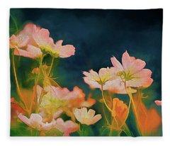 Psychedelic Cosmos Fleece Blanket
