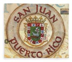 Puerto Rico Fleece Blankets