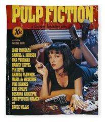 Pulp Fiction 1994 Fleece Blanket