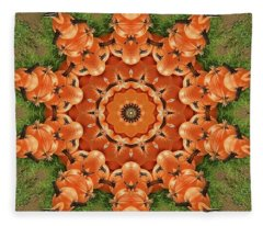 Pumpkins Galore Fleece Blanket
