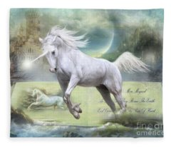 Pure Of Heart Fleece Blanket