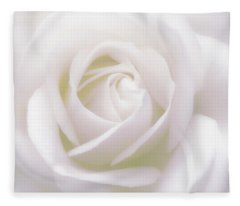 Pure White Fleece Blanket
