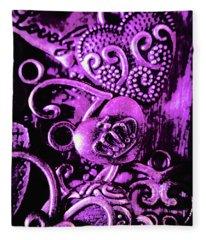 Purple Heart Collection Fleece Blanket