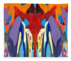Purple Hoodies Fleece Blanket