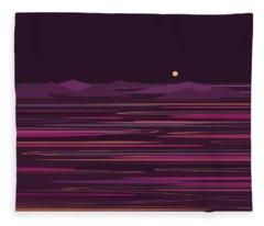 Purple Isles Fleece Blanket